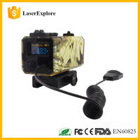 LE032 Laserexplore Camouflage color 700M Mini rangefinder rail tactical shooting riflescope for hunting