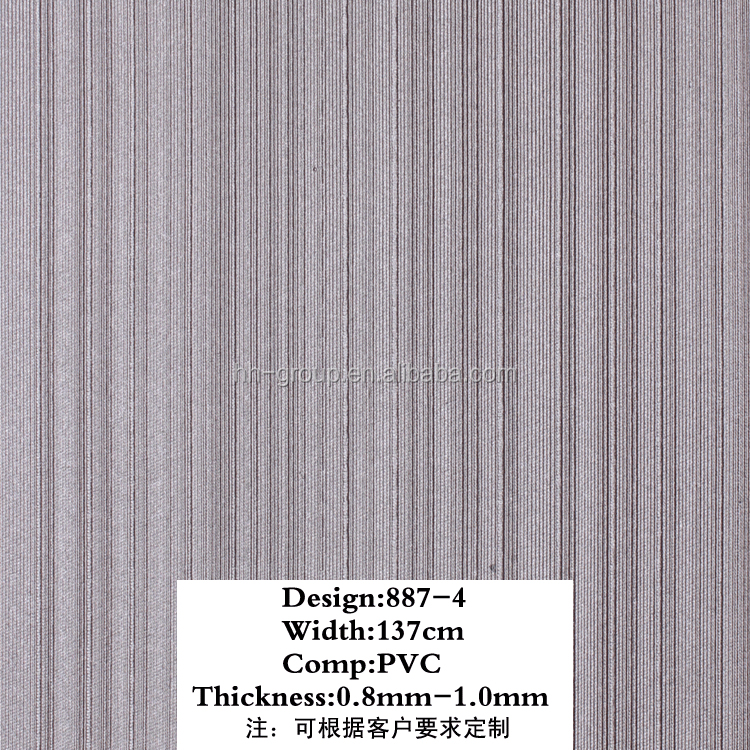 Pvc sponge Leather For Sofa /Car Seat Cover/Bag/shoes Huahong PVC Leather for decorative