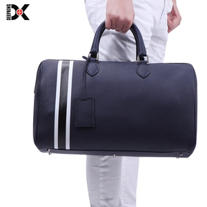 DEEPKING Luxury Genuine Leather Travel Bag for Men