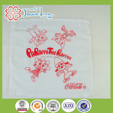 100% cotton plain printed white hand towel