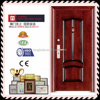 China top high quality cheap price steel security door main entrance door new design