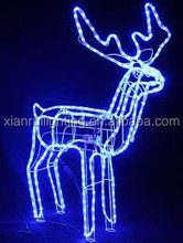 Lighted christmas gift boxes Led glue acrylic animals