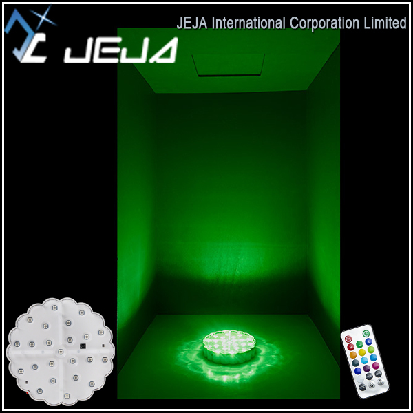 Wedding Table Decoration Under Vase Light Battery Operated Remote Controlled LED Light For Centerpiece
