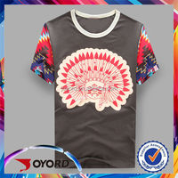 On sale digital printer new season v neck t shirts
