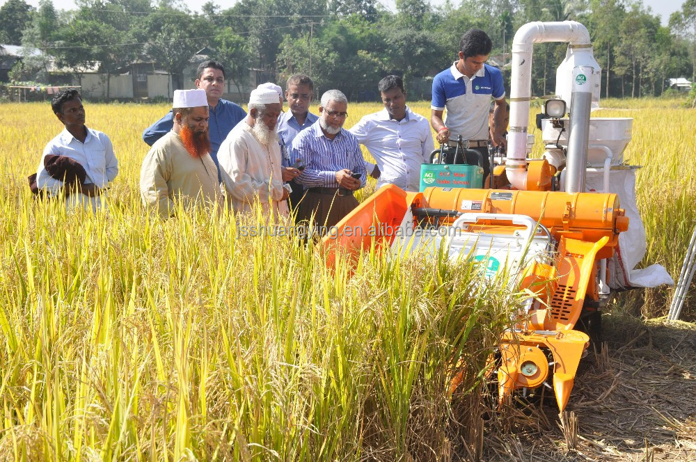 agricultural machinery price of rice combine harvester