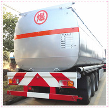 Self-loading 3 axle oil truck trailer fuel tank trailers for sale