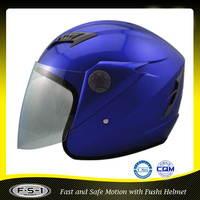 Blue color DOT open face vintage motorcycle helmet prices for sale