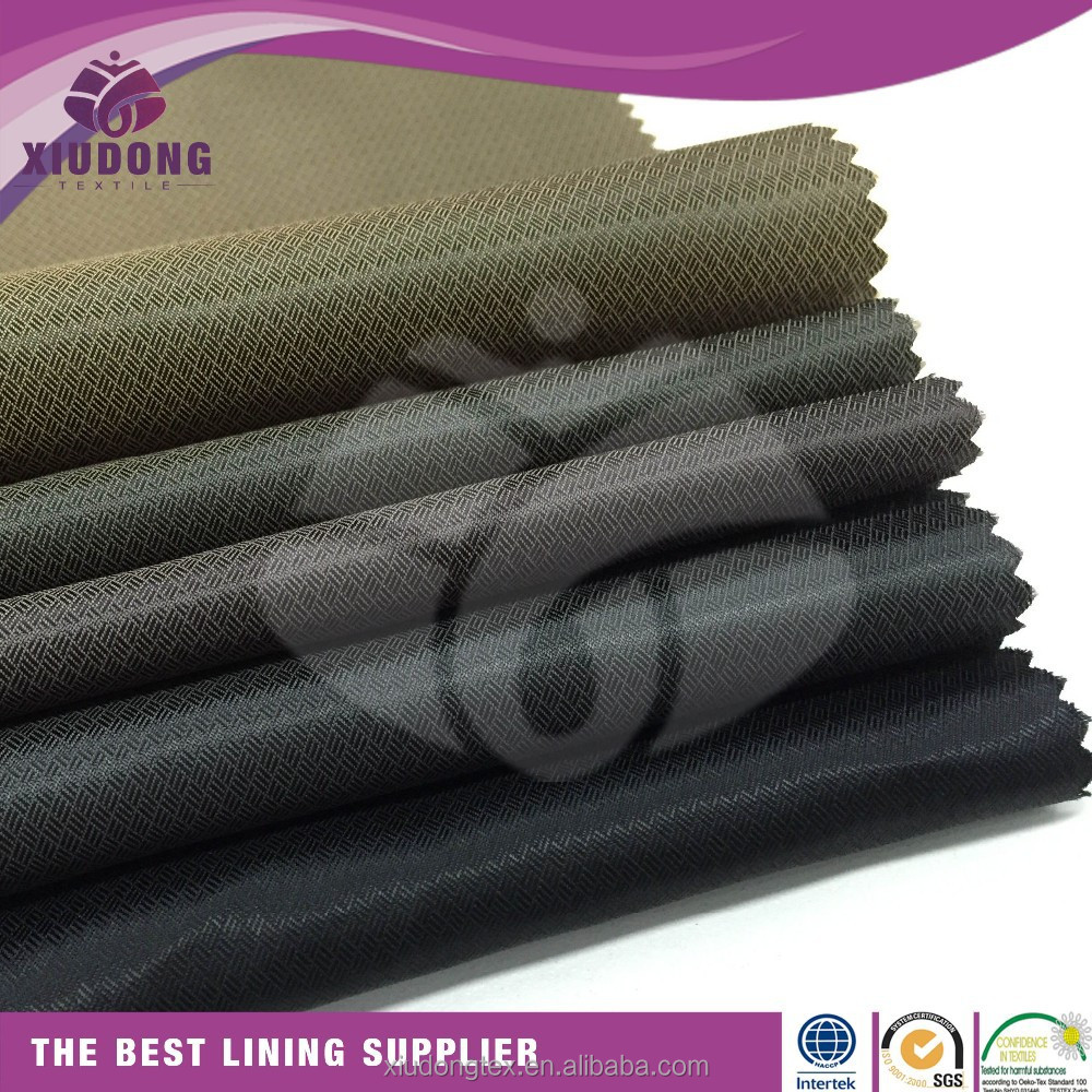 latest designs china textile fabric <strong>polyester</strong> lining free samples