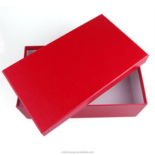 Customized Bali Paper Material Shoe Box With Your Logo