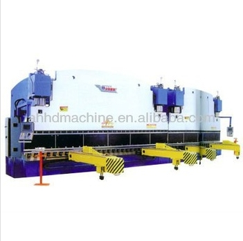 2-WF67K double-unit CNC plate press brake Language Option French