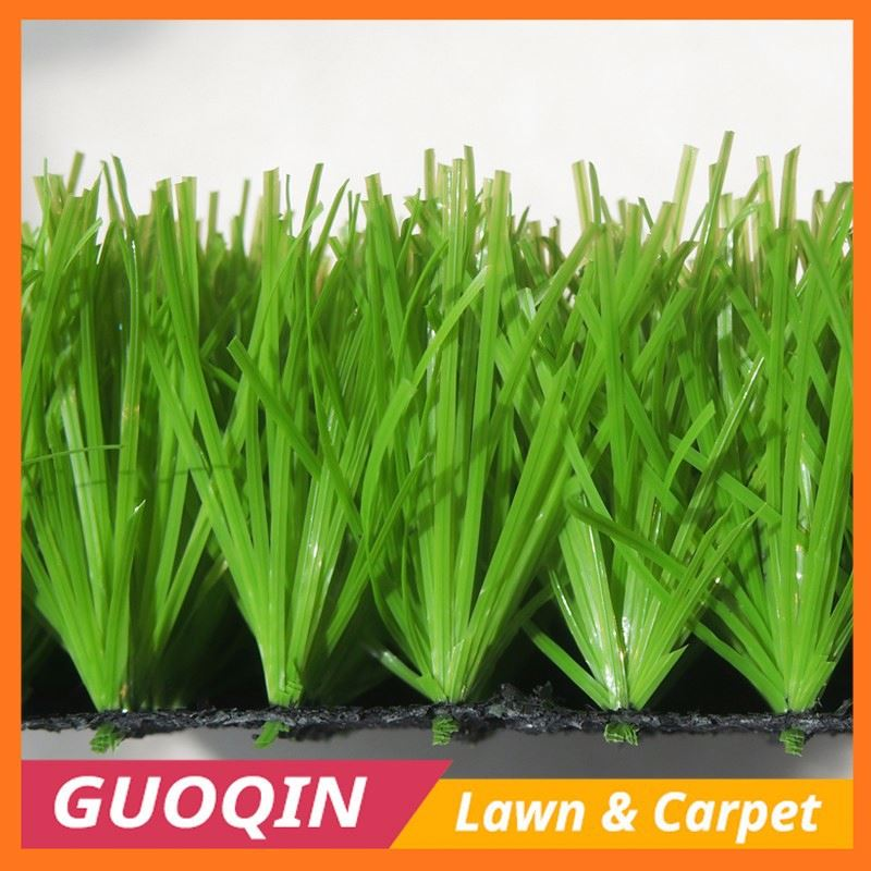 rubber granule and sand infill 55mm plastic artificial grass
