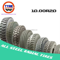 10.00R20 radial truck bus tyres factory prices