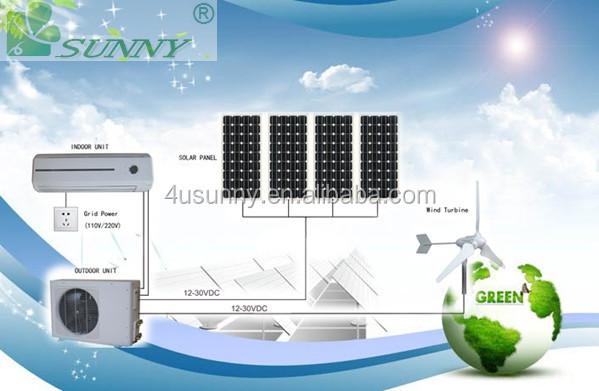 Solar ac 100% solar aircondition a c | air conditioner no electricity TKFR-35GW/DC