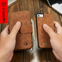 Back Cover For iPhone 5 Case, For iPhone 5 Case Leather Wallet With Card Slots