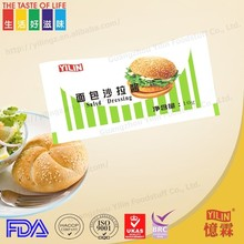 Hot selling new flavor 10g sachet sweet salad dressing