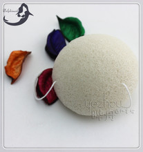 White Wholesale Konjac Sponge With Box