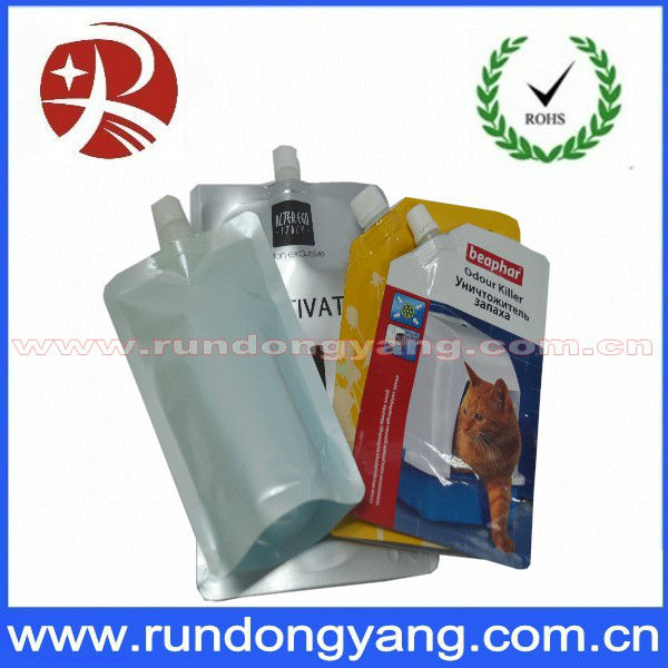 Printing Colorful Aluminum Stock Stand Up Pouches