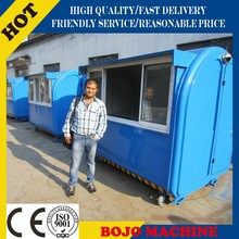FV-22C new stainless steel mobile food cart with wheels/food service cart with wheels/mobile fryer food cart