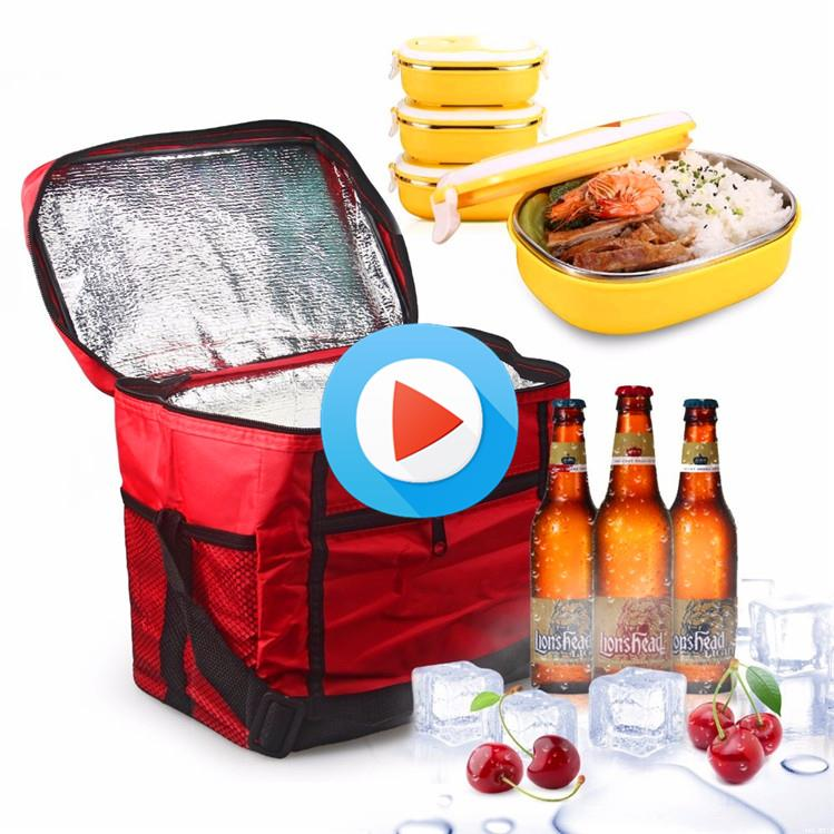 Hot selling trolley cooler bag insulated cooler bag ice cooler bag with low price
