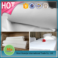 High Quality Woven White Cotton Fabric For Bed Sheet and Textiles