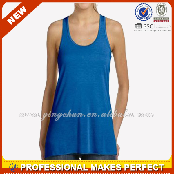 Women sexy wholesale 100 cotton rib tank top(YCT-C0459)