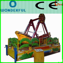 China professional manufacturers fiberglass small pirate ship for sale with trailer