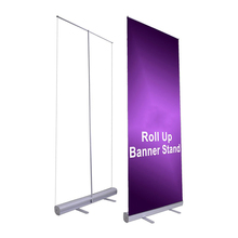 Universal Roll Up Display Fabric Stand Pull Up Banner Base