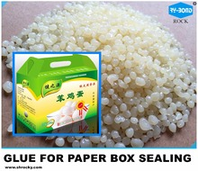fast curing hot melt glue for box sealing