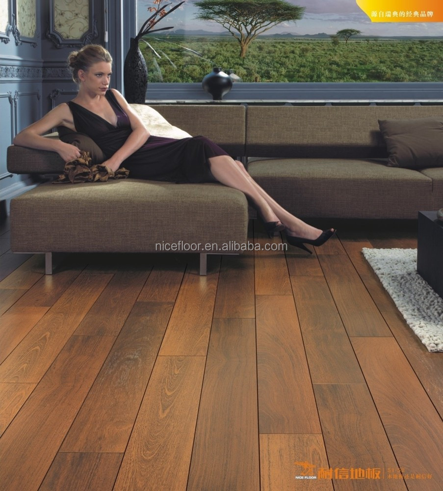 Horizontal Compressed AB Grade Walnut solid wood flooring