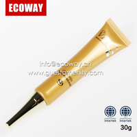 30g plastic eye cream tubes for hotel luxury cosmetic packaging