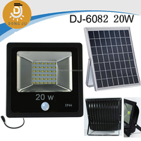 New Hot Item 3w,5w,7w,10w,20w,30w integrated SMD solar led light with latest solar controll system DJ-6082 20w
