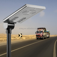 Pure White Color Temperature(CCT) and IP65 IP Rating 30w integrated type Solar Led Street Light