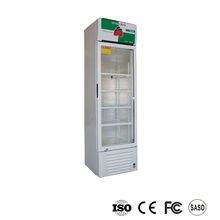 Single door coke pepsi restaurant vertical refrigerator
