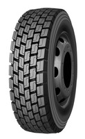 Enhanced driving pattern T72 heavy duty truck tires with 315/70R22.5