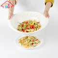 Food Grade Plastic Pasta Strainer Plastic Vegetable Fruit Pasta Colander
