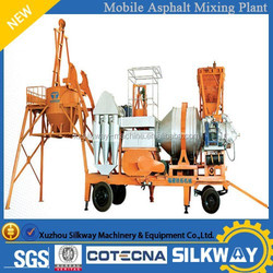 Brand New 20t/h Movable Asphalt Mixing Plant QLB-20 in Cheap Price