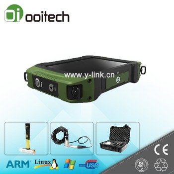 Wuhan Ooitech factory certificated portable digital ultrasonic detector pile plate load tester