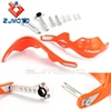 "ZJMOTO Dirt Bike Orange Hand Guard Motorcycle Handguards For 1 1/8"" 7/8"" Handlebar Motor Bike Fit to Suzuki Kawasaki Honda KTM"