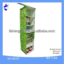 Foldable Wall 6 Shelf Sweater hanger Organizer