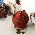 lovely basketball money box, custom made basketball coin bank, basketball piggy bank