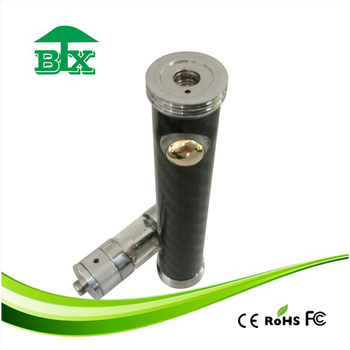 Russian new arrival carbon fiber battery dry herb attachment for ego battery