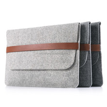 Felt Cover Case For pad mini with elastic band