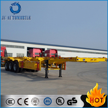 Brand new top quality tri-axle 40' container semi-trailer/container transport semi-trailer for sale