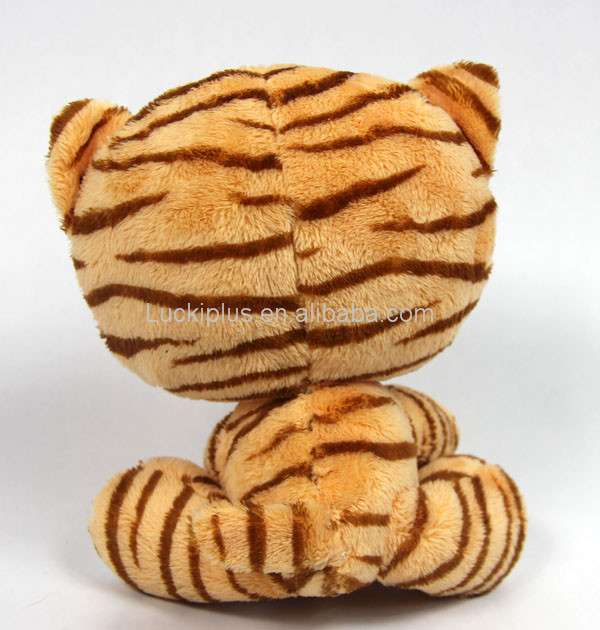 Luckiplus Hot Sale First Class Big Head Tiger Stripe Animal Series Safe Technology Toy For Kids