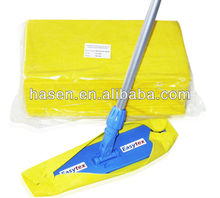 needle punch disposable mop wipe floor fabric mop