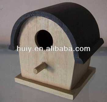 Wood birdhouse bird nest wood craft small wooden boxes for Wooden craft supplies wholesale