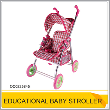 Lovely baby doll stroller toy Baby carriage for sale OC0225845