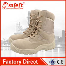 High quality beige black swat used desert south africa indian commando 511 woodland army boots/shoes