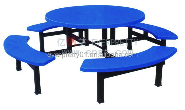 Cheap Fast Food Restaurant Wooden Dining Table And Chairs