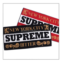 Cotton Printed Logo Bar Towel